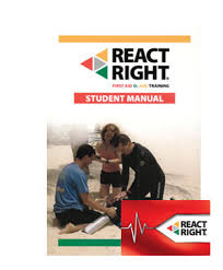 React Right First Aid, CPR Course