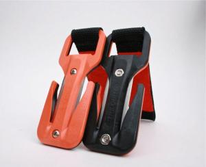 Eezycut Trilobite,  black / orange with Harness Pouch, PK Velcro + 2 Spare Blades