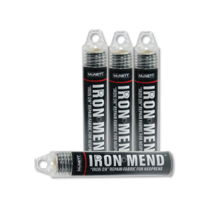 McNett IRON MEND NEOPRENE REPAIR PATCH - BLACK 25.5cm x 15cm