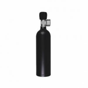 Cilinder aluminium 0.85 liter inclusief afsluiter tbv Argon set