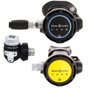 Aqua Lung(AKTIE) Core Supreme ACD DIN 300 bar + Core Octopus( inclusief Manometer en inflator slang)