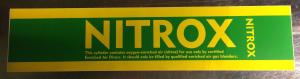 sticker Nitrox 49cm