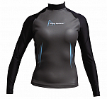 Aqua Sphere, aquaskin top, 0,5mm, grijs, lady, size S